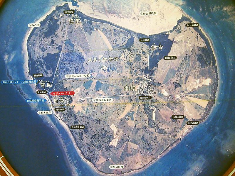 黒島の航空写真
