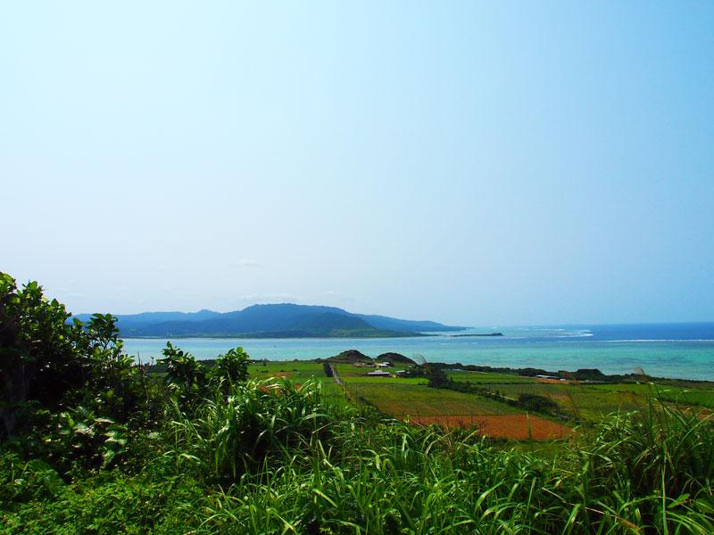大岳(北側)展望台からのながめ
