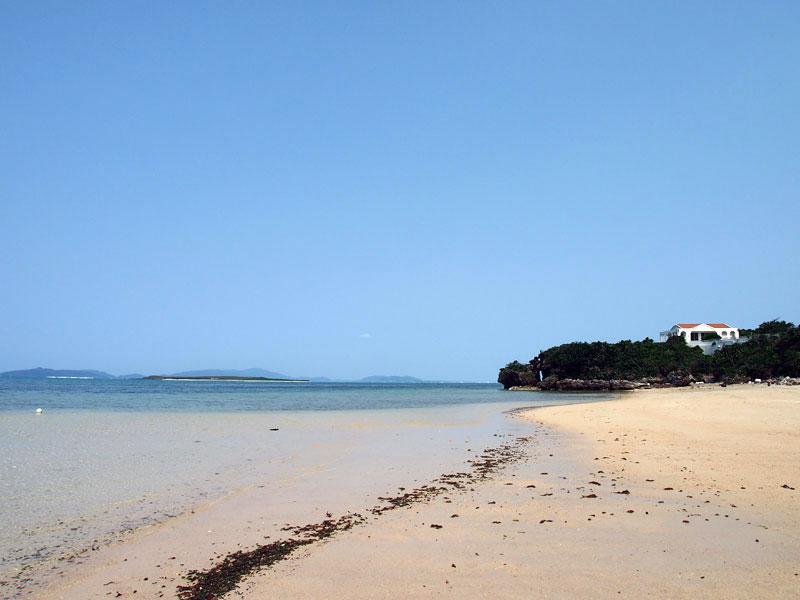 小浜島ビーチリゾート(休業中)のビーチ