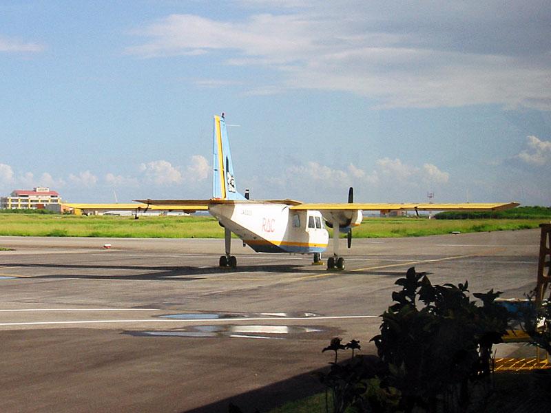 RAC JA5325(Britten-Norman BN-2B-20 Islander)