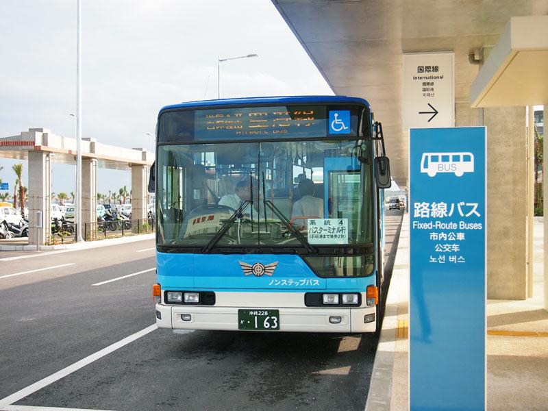 新石垣空港と石垣港離島ターミナルを結ぶ路線バス