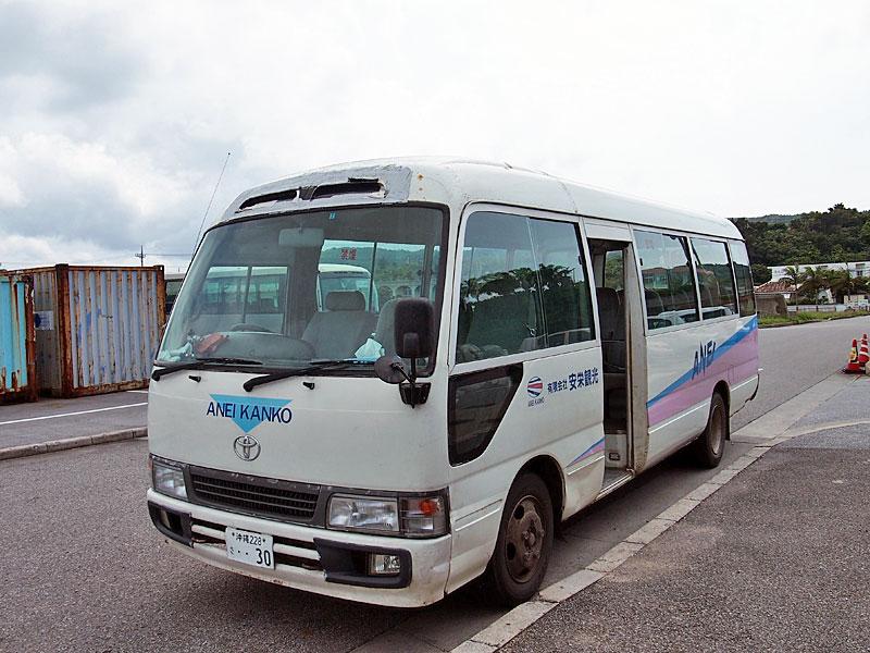 安栄観光のバス
