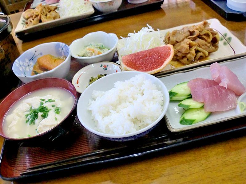新田荘さんの夕食