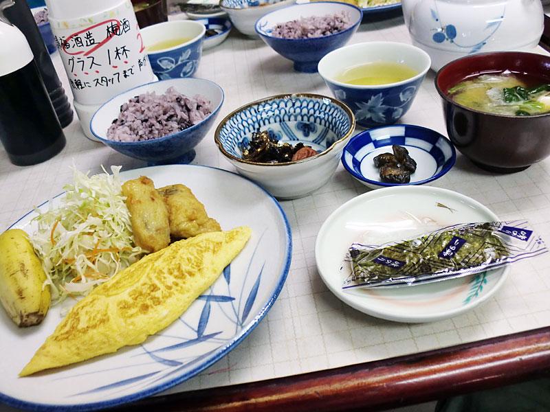 小浜荘さんの朝食