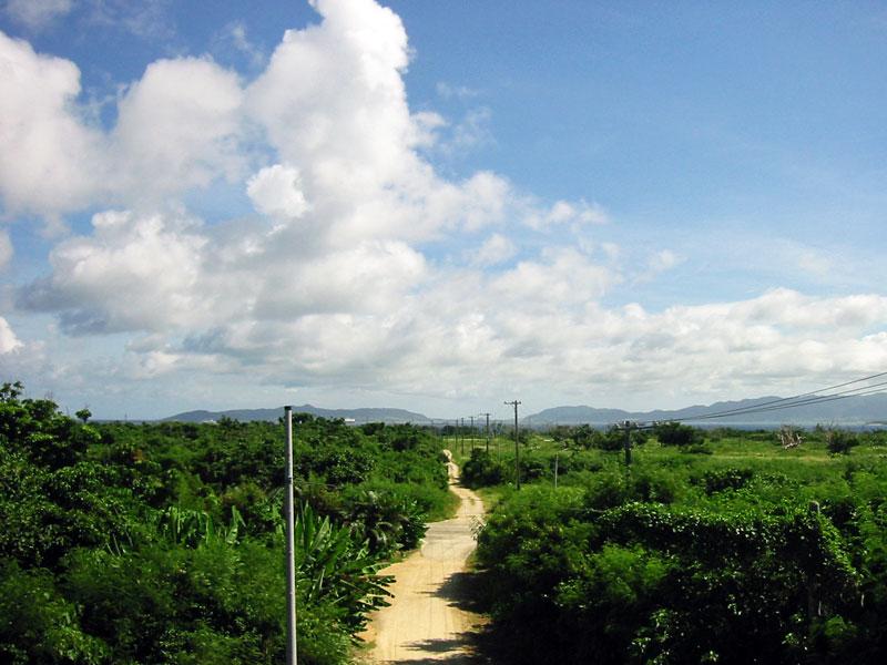 小城盛(クスクムリ)からの眺め