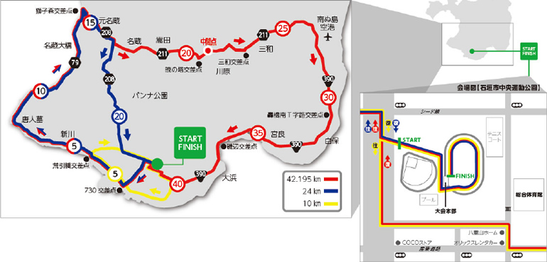 第15回石垣島マラソン
